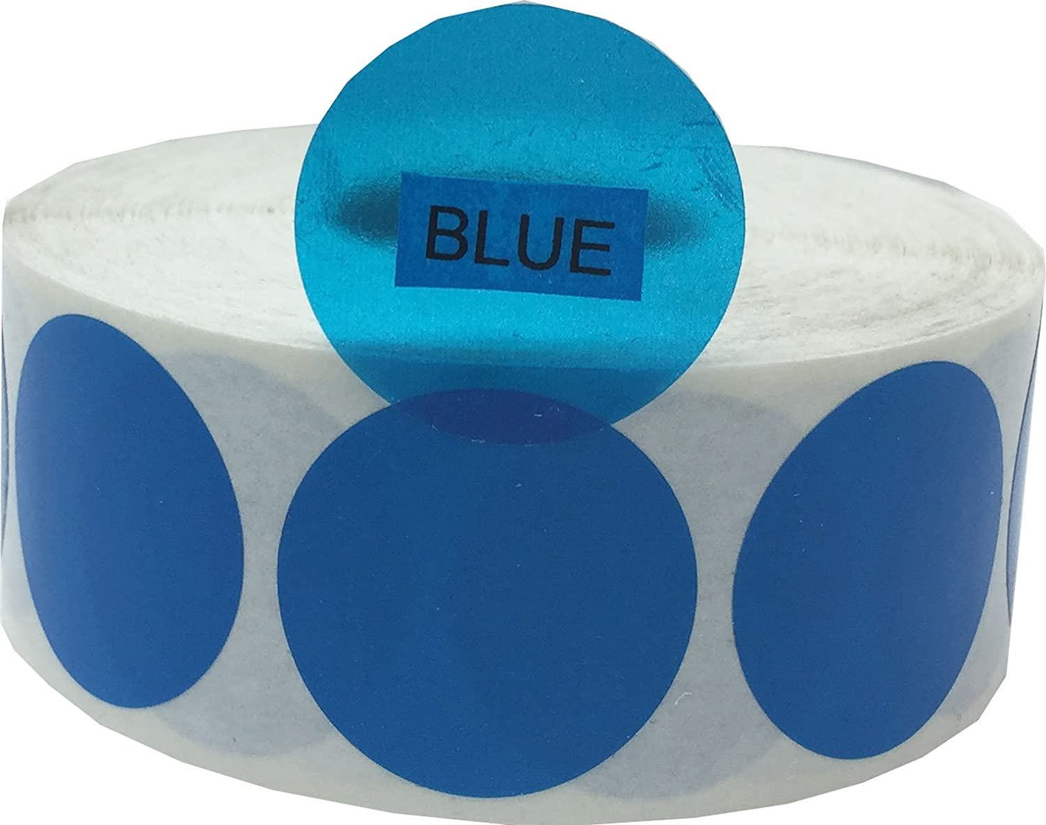 Transparent Blue Color Coding Industry No. 1 Labels Japan's largest assortment Inventory Organizing for