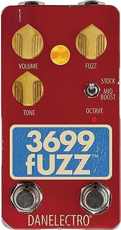 Danelectro 3699 Fuzz Pedal, DTF1