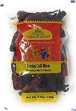 Asian Kitchen (By Rani Brand) Byadagi Chilli Whole, Indian Chilli 3.5oz (100g) ~ All Natural | Vegan | Gluten Free Ingredients | NON-GMO | Indian Origin