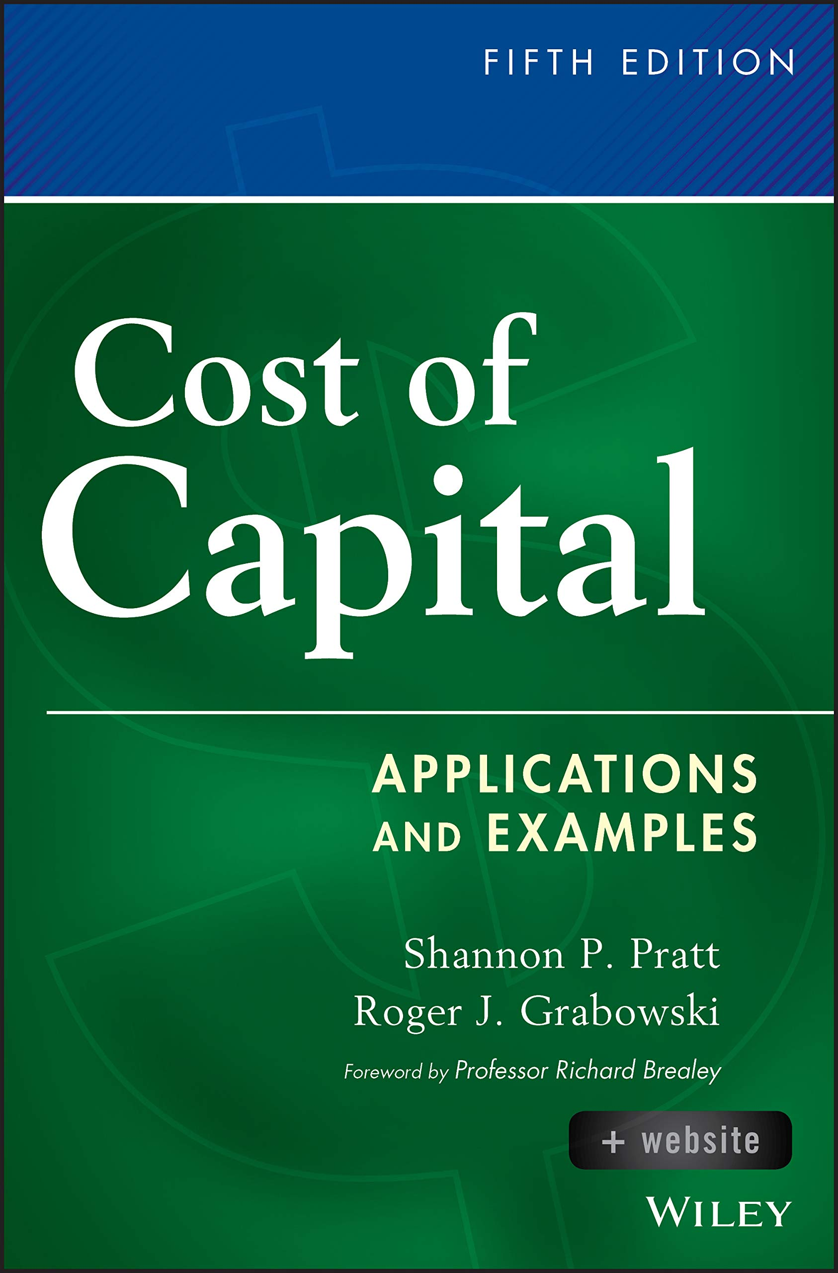 Image OfCost Of Capital, + Website: Applications And Examples (Wiley Finance)
