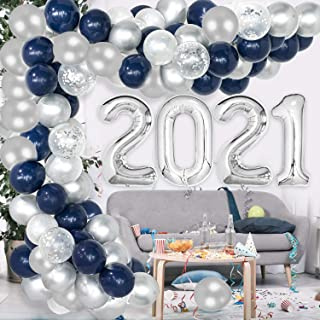 Unique Party 83795 Decorations Blue /& Silver