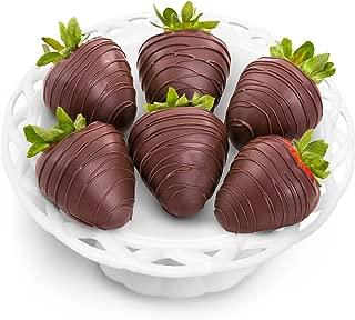 Golden State Fruit 6 Piece Dreamy Dark Chocolate Covered Strawberries