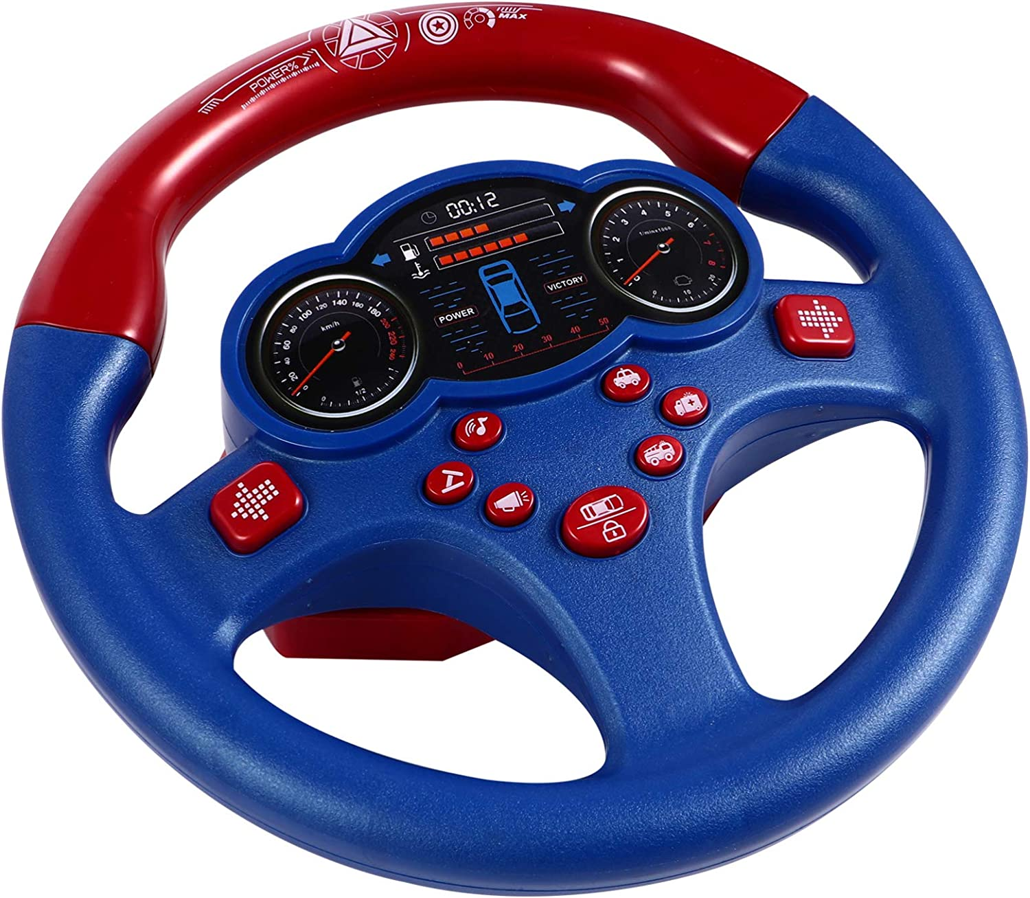 TOYANDONA Steering Wheel Toy Large discharge sale Copilo Simulated Controller Driving Free shipping New
