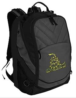 Broad Bay BEST Don't Tread on Me Backpack Laptop Computer Bag