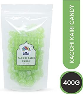Mr. Merchant Kacchi Kairi Candy, Raw Mango Candy, After Meal Digestive Candy, Mukhwas, Indian Mouth Freshner - 400 grams