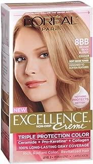 L'Oreal Excellence Creme - 8BB Medium Beige Blonde (Cooler) 1 Each (Pack of 4)