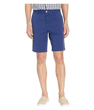 Robert Graham Aldrich Woven Shorts (Navy) Men