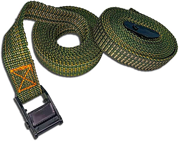 Highwild Lashing Straps Up To 600lbs 8 X 1 Cargo Lash Strap 2 Pack Green