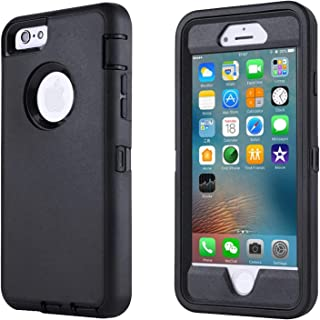 GreatCase Compatible with iPhone 6, Compatible with iPhone 6S, Shockproof Heavy Duty Built-in Screen Protector Dueable 3 i...