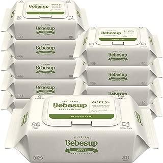 Bebesup Zero Cap 80s Baby Wipes - Carton