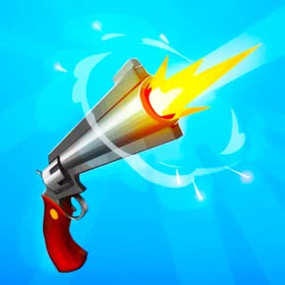 Spinny Gun - flip the gun and shoot !
