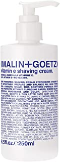 Malin + Goetz Vitamin E Shaving Cream, 8.5 Fl Oz