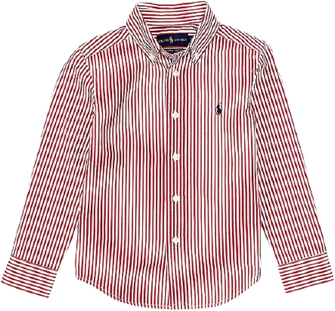 Polo Ralph Lauren Evening Post RED Boys Striped