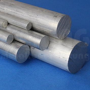 a corte Barra redonda de aluminio