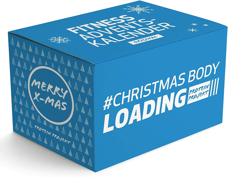 El calendario de adviento original de Protein, calendario de adviento de fitness, 24 regalos hasta Navidad, alta proteína, marca Topmarken