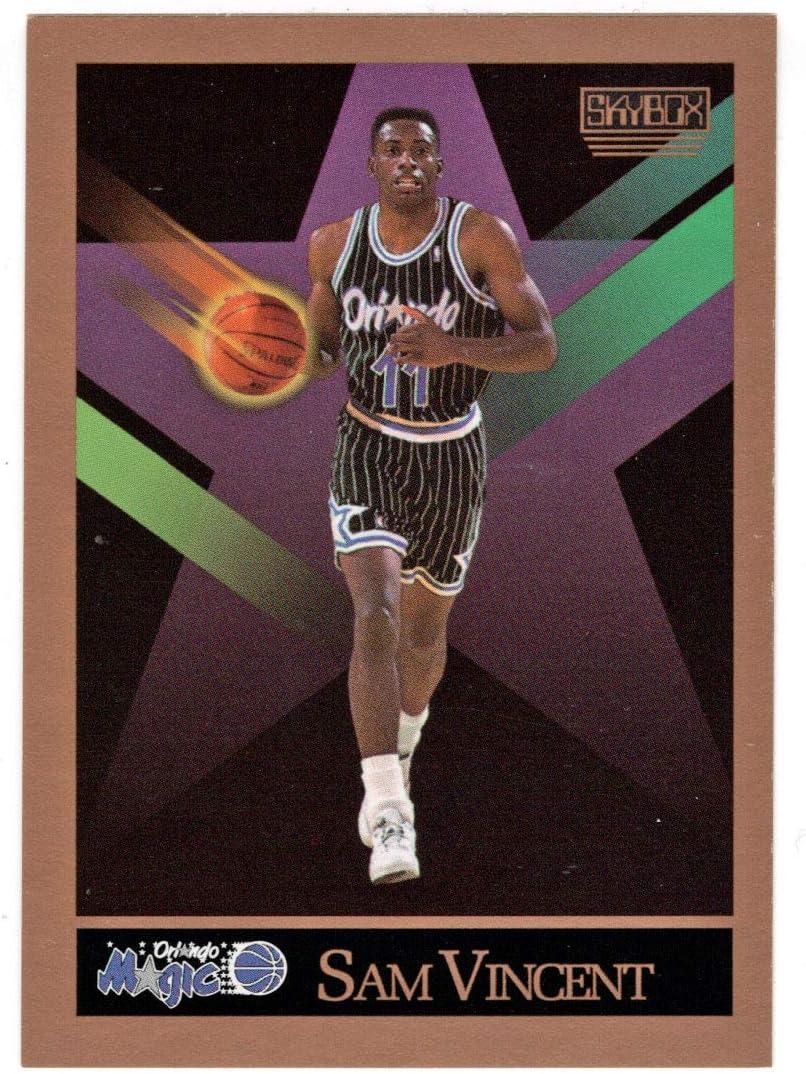 Sam Max 63% OFF Vincent - Orlando Magic Max 75% OFF Basketball 1990-91 Skybox 2 # Card