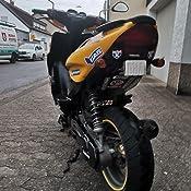 Motorverkleidung Tnt Rechts Für Mbk Yamaha Nitro Aerox Schwarz Unlackiert Auto