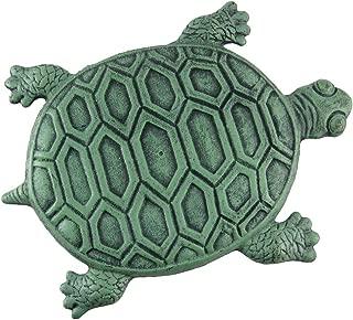 INsideOUT Iron Verdigris Garden Turtle Stepping Stone