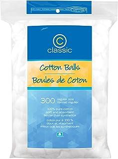 Classic Cotton Balls Regular Size, 300 Count