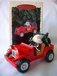 QX5684 Here Comes Santa: Santa 4x4 18th in Series 1996 Hallmark Keepsake Ornament