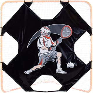 Crown Sporting Goods 6' x 6' Heavy-Duty Lacrosse Goal Target