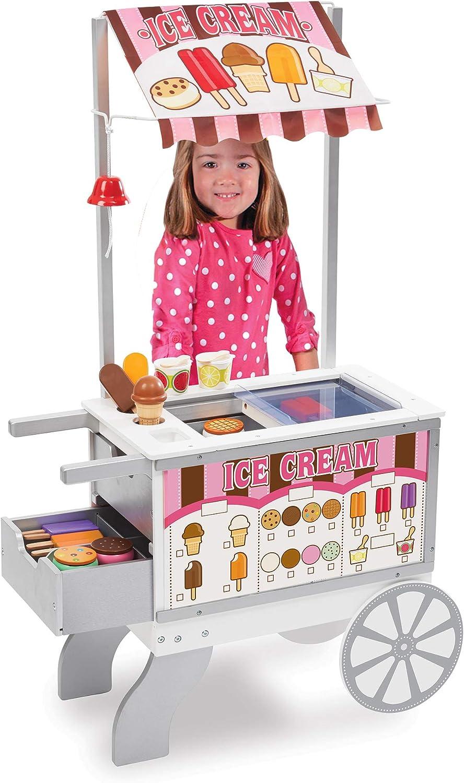 Melissa Doug Wooden Snacks and Sweets 40+ Food depot Play Foo Regular store Cart -