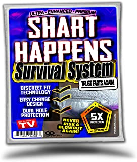 Gears Out Shart Happens Survival System - Next Time You Shart Be Prepared - Never Risk a Blowout Again - Discrete Fit Technology