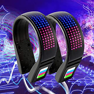 Coolnice 2 PCS Shoe Lights for Runners Clip on Safety Lights for Runners Walkers Led Shoe Clips Lights USB Charging IP67 Waterproof Reflective Gear for Runners 11 Flash Modes