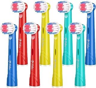 Cabezales Oral B Para Niños de Milos/Paquete de 8 Cabezales de Recambio Oral B Infantil para Cepillo de Dientes Eléctricos Junior