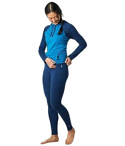 Smartwool Merino 250 Base Layer Bottoms (Alpine Blue Heather) Women
