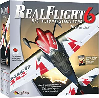 Great Planes Realflight G6 W/airplane Megapack Mode 2