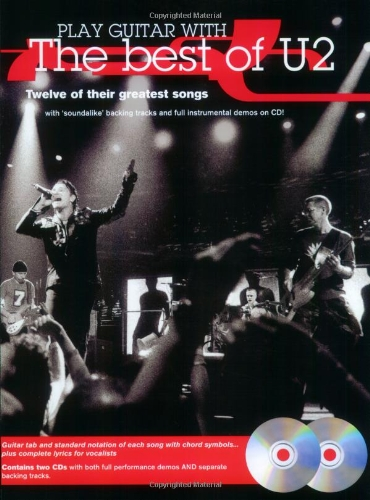 Play Guitar With... The Best Of U2 Tab Book/Cd