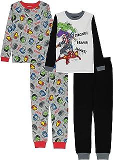 Marvel Boys' Avengers Snug Fit Cotton Pajamas