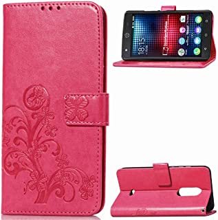 BQ Mobile BQS-5050 Strike Selfie Case, Gift_Source Flip Wallet Case Premium Emboss Flower PU Leather Fold Stand Cover Slim Shell with Card Slots for BQ Mobile BQS-5050 Strike Selfie (5.0