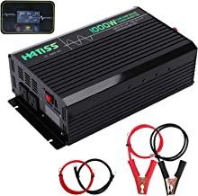 $149 » Sponsored Ad - HATISS 1000W Pure Sine Wave Power Inverter, Peak Power 2000W, 12V DC to 110V AC Car Inverter with Dual AC O...