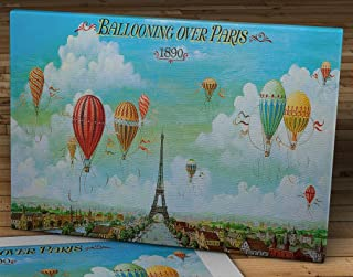 ballooning over paris canvas