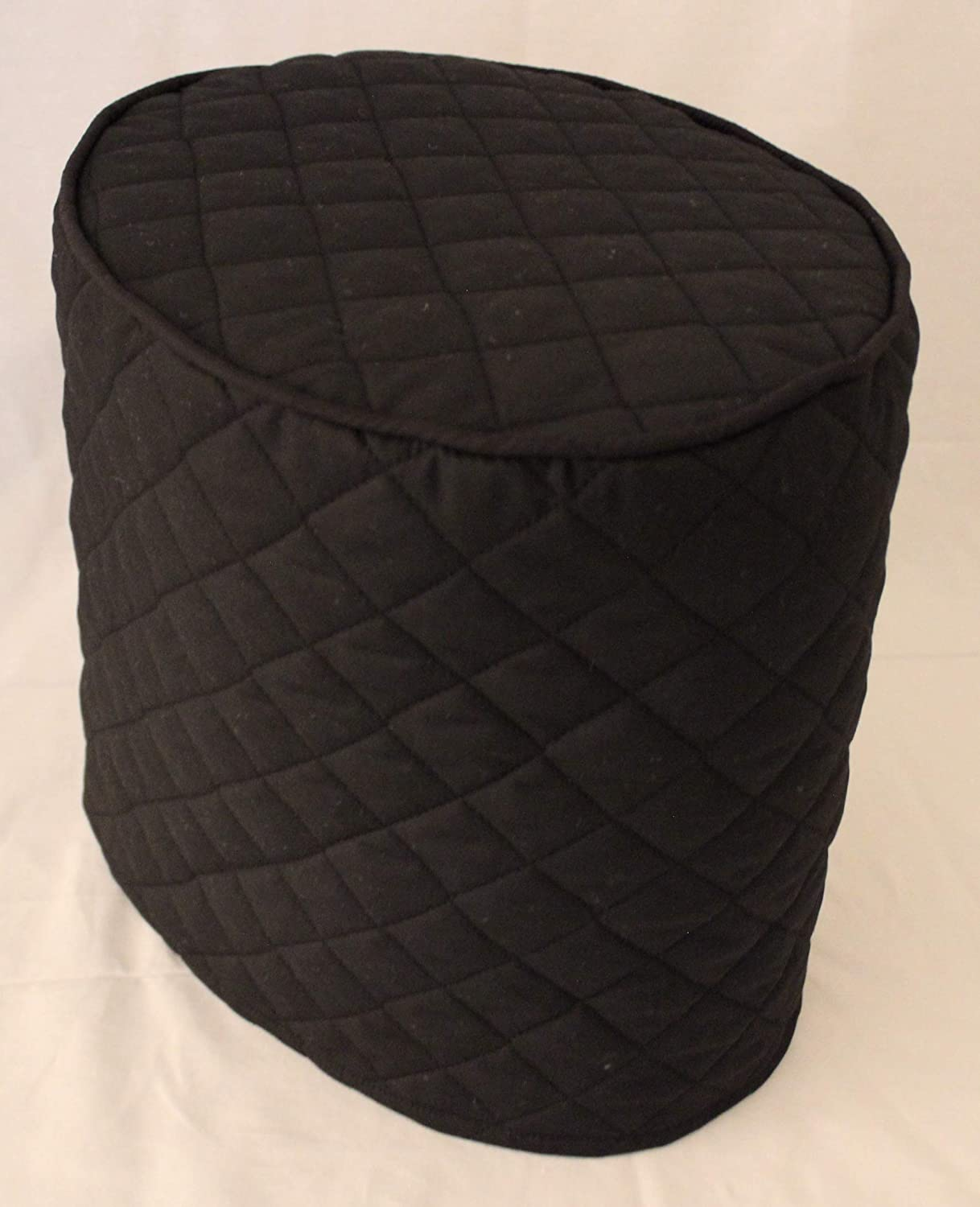 Simple Home Inspirations Quilted Cover Compatible with Instant Pot Pressure Cookers (3Qt, Black)