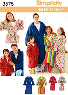 easy bathrobe pattern