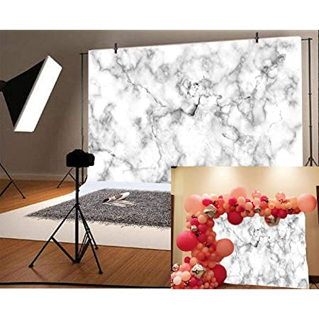 8x8FT Vinyl Photo Backdrops,Marble,Retro Marble Mosaic Photo Background for Photo Booth Studio Props