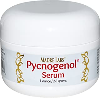 Madre Labs, Pycnogenol Serum (Cream), Soothing and Anti-Aging, Non-GMO, Parabens Free, Gluten Free, Phthalate Free, 1 oz. (28 g)