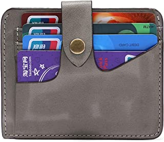 Yafeige Womens Rfid Blocking Slim Leather Card Case Wallet Minimalist Credit Card Holder Small Purse