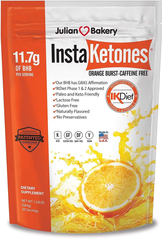 Trust InstaKetones Orange Burst 11.7g GoBHB Free Manufacturer regenerated product Scoop Caffeine Per