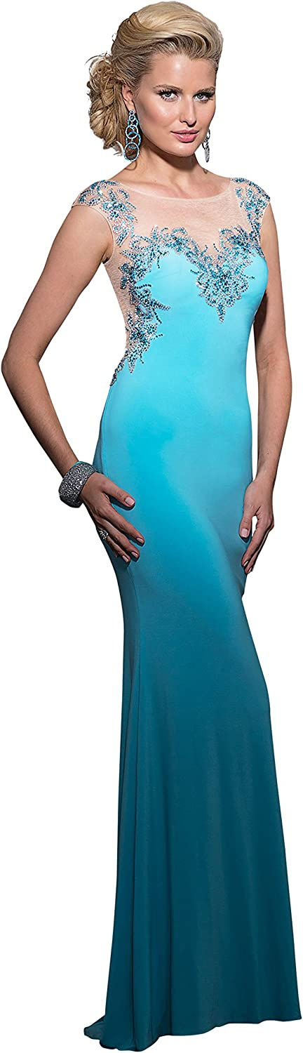 Clarisse Women's Fitted Prom Dress 2603