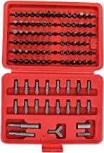 ABN 100 Piece Tamper Security Bit Set Metric and SAE Standard