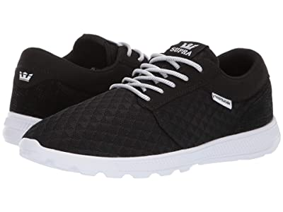 Supra Hammer Run (Black Emboss/White) Men