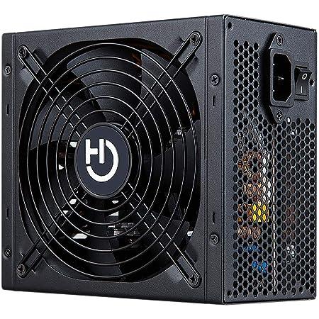 Hiditec | Fuente de Alimentación para PC BZ650w | Fuente de Alimentación para Caja pc Gamer | PC silencioso | para PC portátiles y Sobremesa | Formato ...