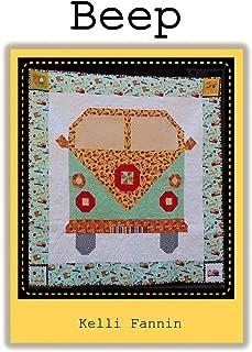 "Beep Quilt Pattern by Kelli Fannin Quilt Designs KFQP106-60.5"" x 60.5"""