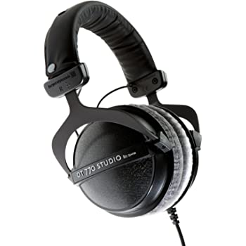 beyerdynamic DT 770 Pro Studio Headphones - Over-Ear, Closed-Back, Professional Design for Recording and Monitoring (80 Ohm, Grey)