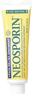 Neosporin Plus Pain Relief, Maximum Strength Antibiotic Ointment 1 oz (Pack of 2)