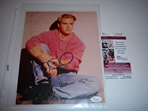 Mark Paul Gosselaar Saved By The Bell JSA Autographed Signed 8x10 Photo